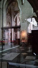 Bristol Cathedral Glass Doors